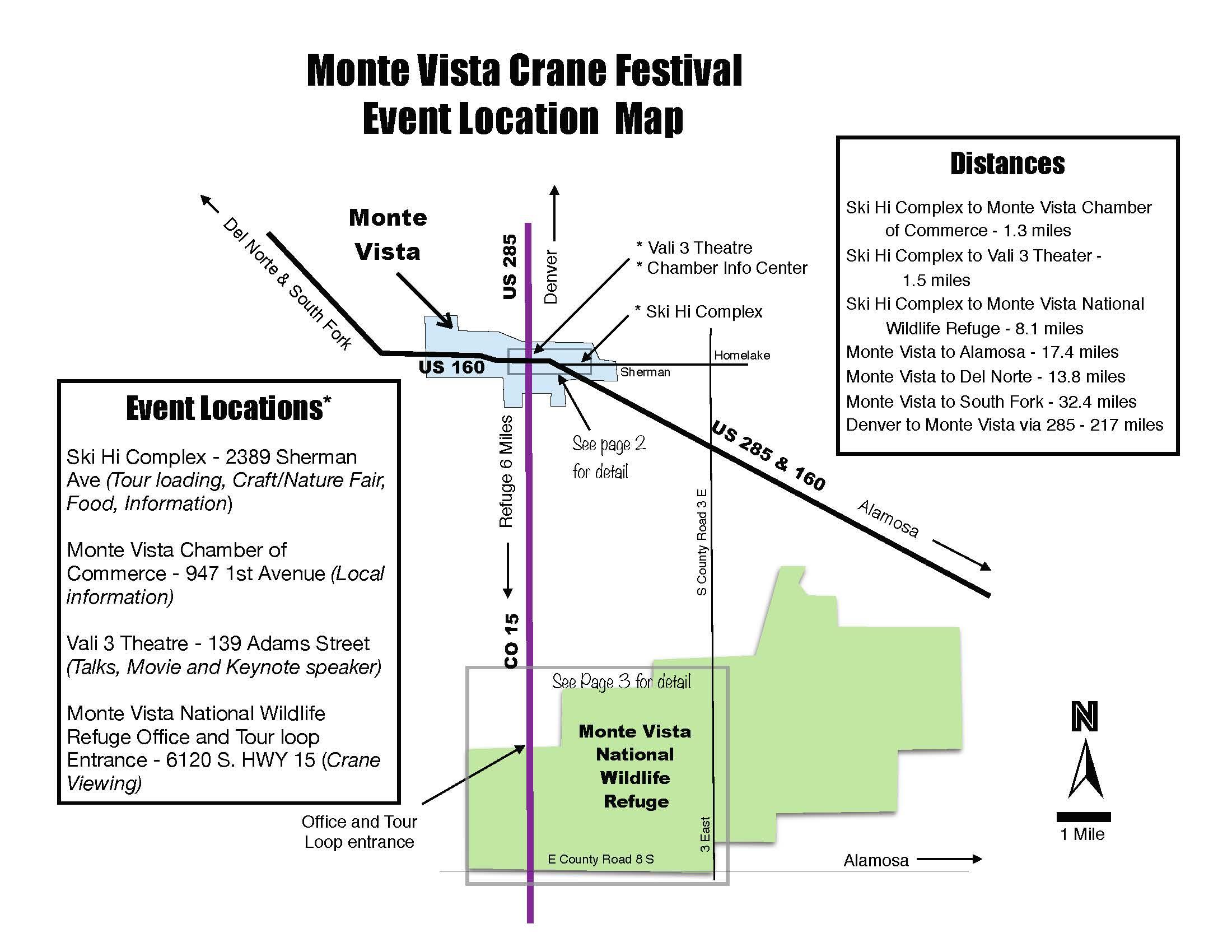 Maps | Monte Vista Crane Fest Del Monte Shopping Center Map on