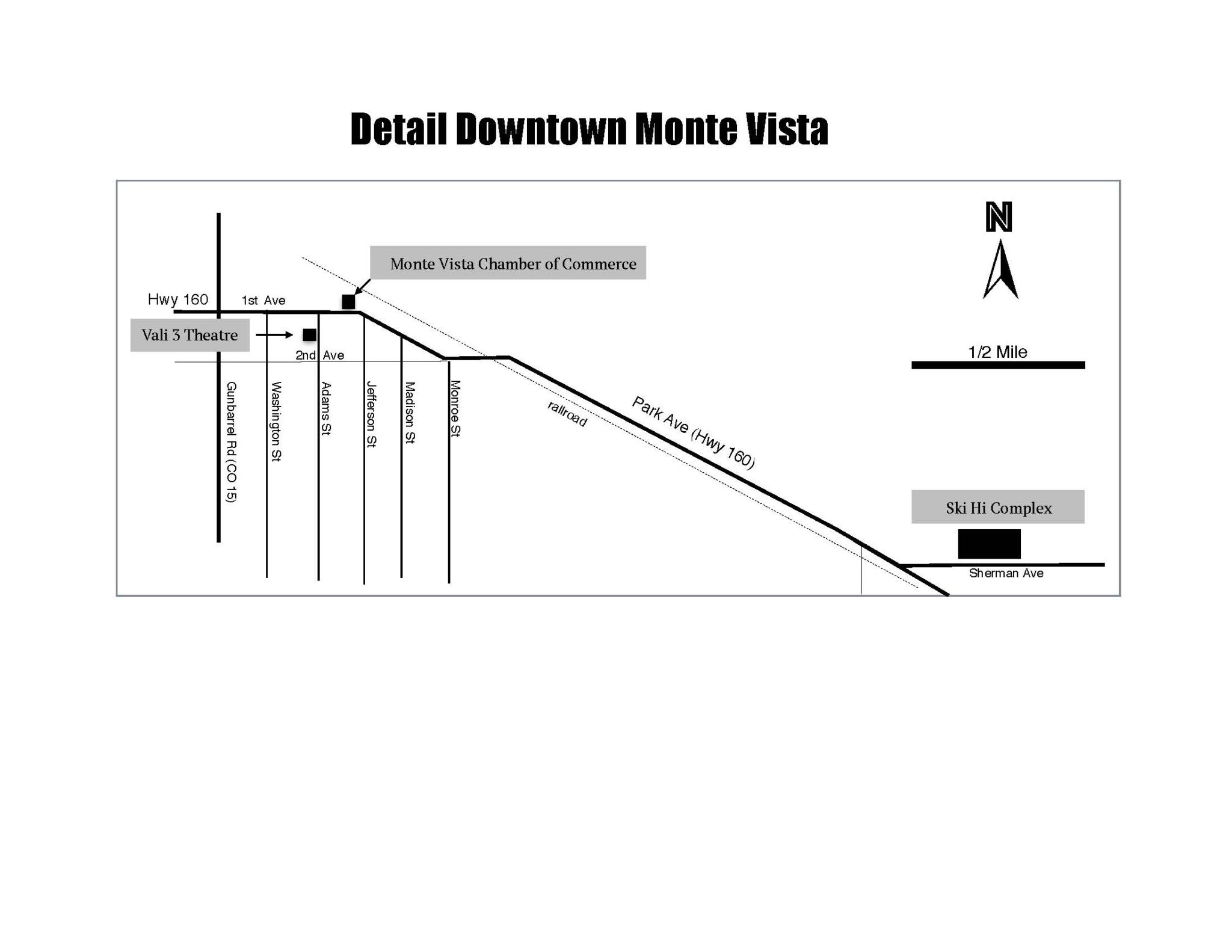 Maps Monte Vista Crane Fest